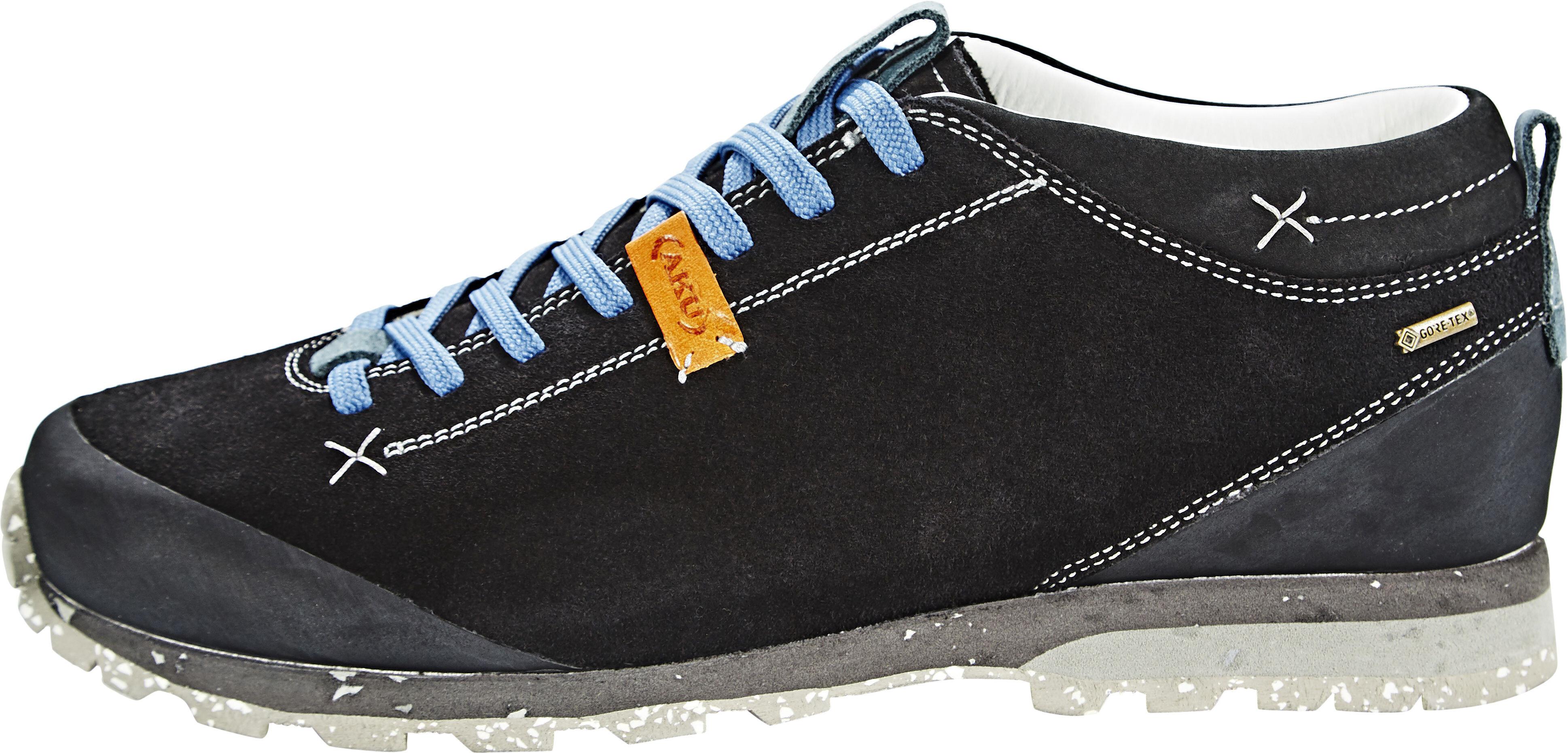 AKU Bellamont Suede GTX Shoes Men black light blue   campz.de fb025d1a2cd0